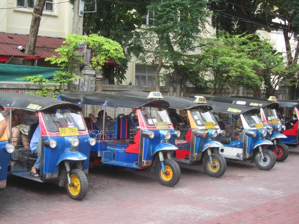 Aan tuktuks geen gebrek!