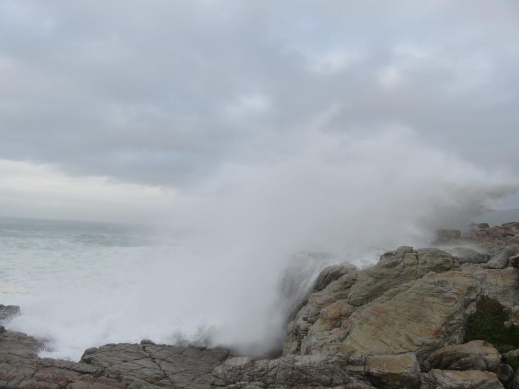 De zee was iets te ruig