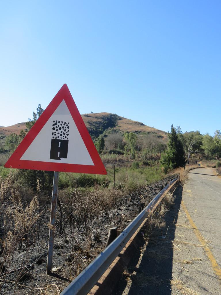 Voorzichtig voor de gravelweg