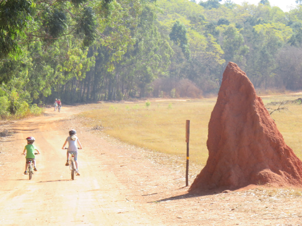 fietstocht Swaziland