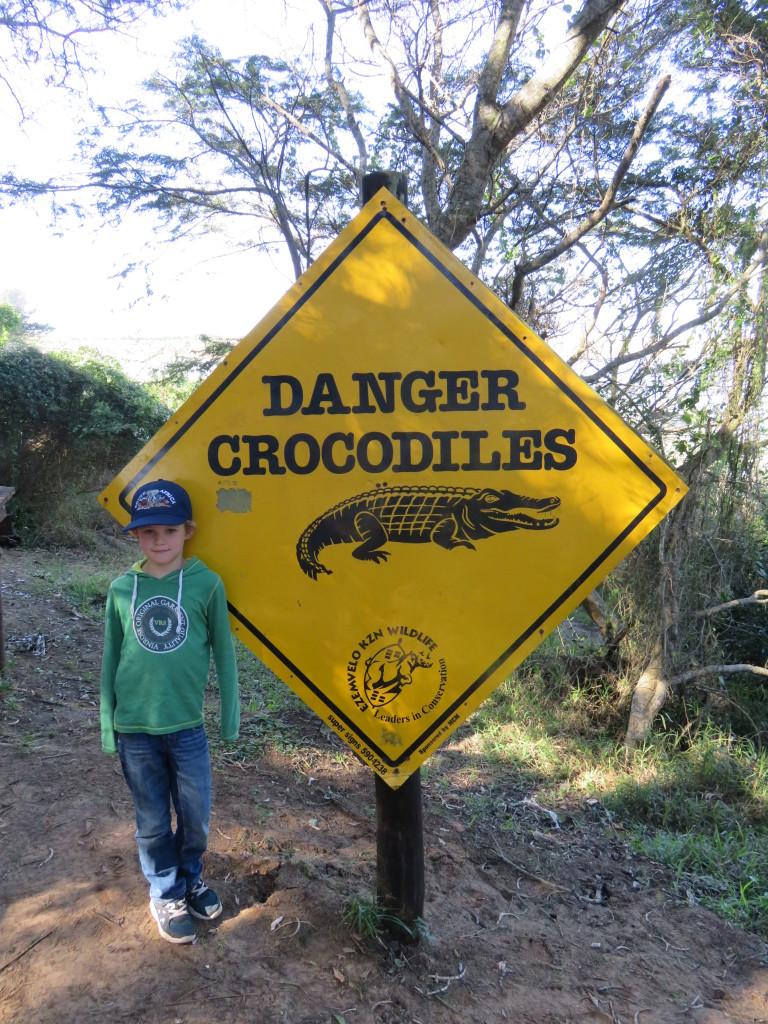 Pas op voor krokodillen