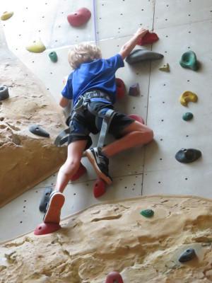 Ook kleine kinderen klimmen
