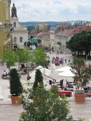 De mooie stad Pécs