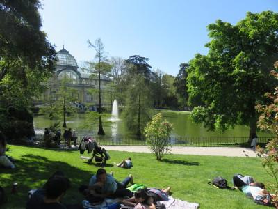 Relaxen in het Retiro Park