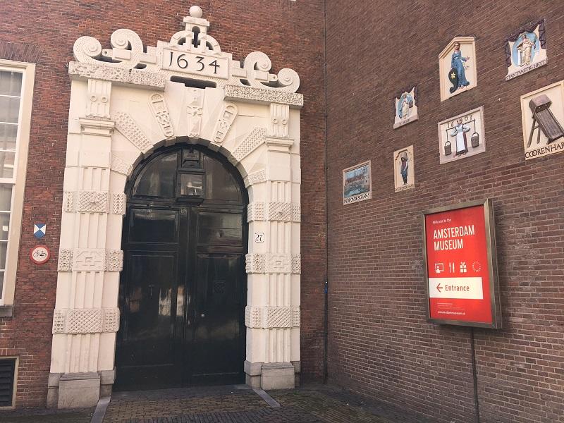 Amsterdam Museum poort