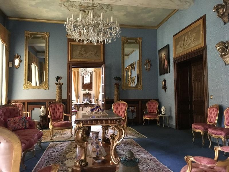 Blauwe kamer Kasteel Aldenghoor