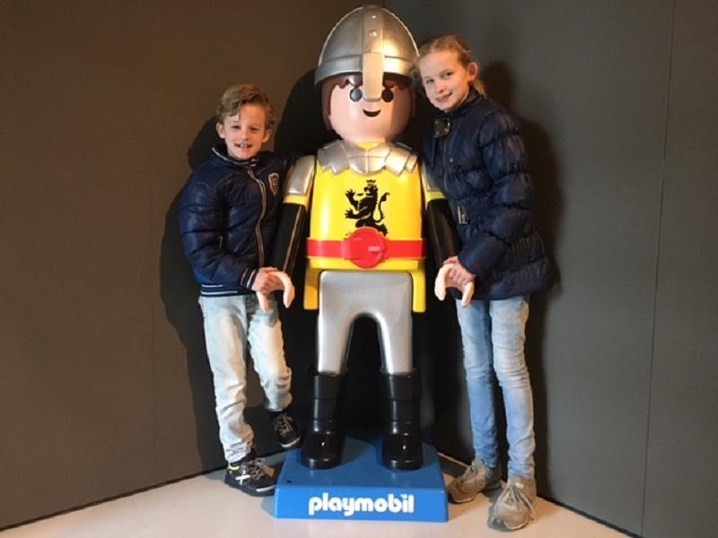 40 jaar Playmobil poseren