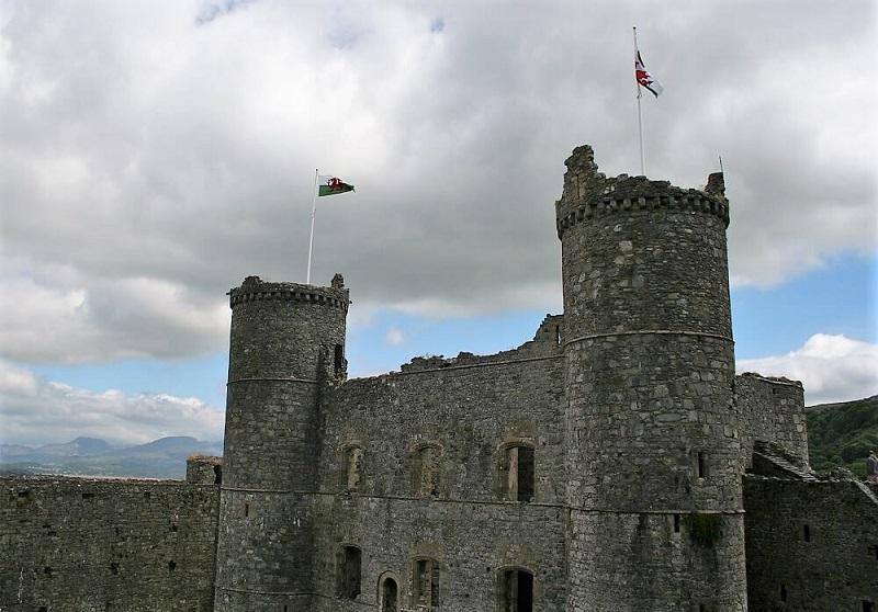 bijzondere kastelen in Europa Harlech