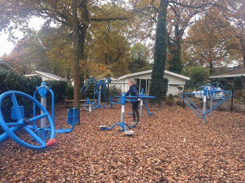 Buiten Fitness Droompark Maasduinen Limburg