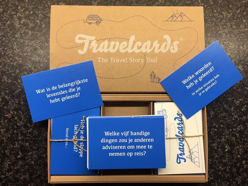 Travel Cards cadeaus reisfanaten