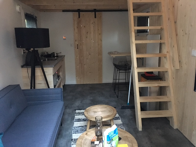 Woonkamer Tiny House