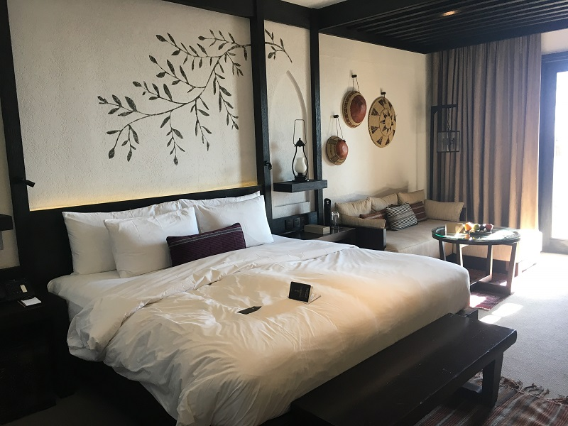 Alila Oman slaapkamer