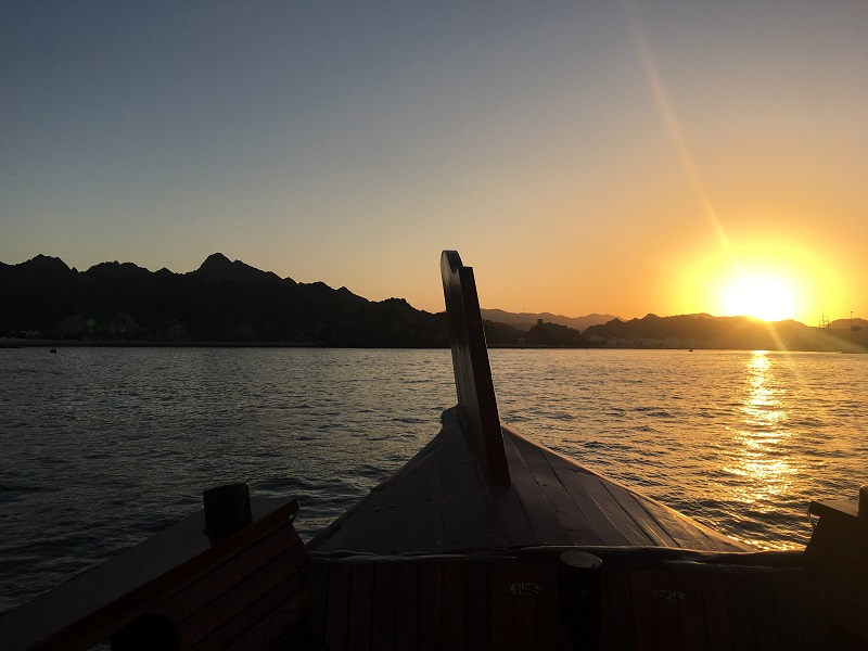 Sunset - Muscat