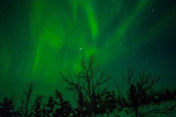 Noorderlicht in Zweeds Lapland 1