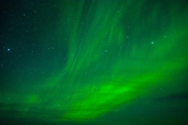 Noorderlicht in Zweeds Lapland 2