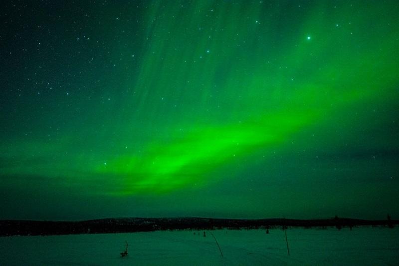 Noorderlicht in Zweeds Lapland 3