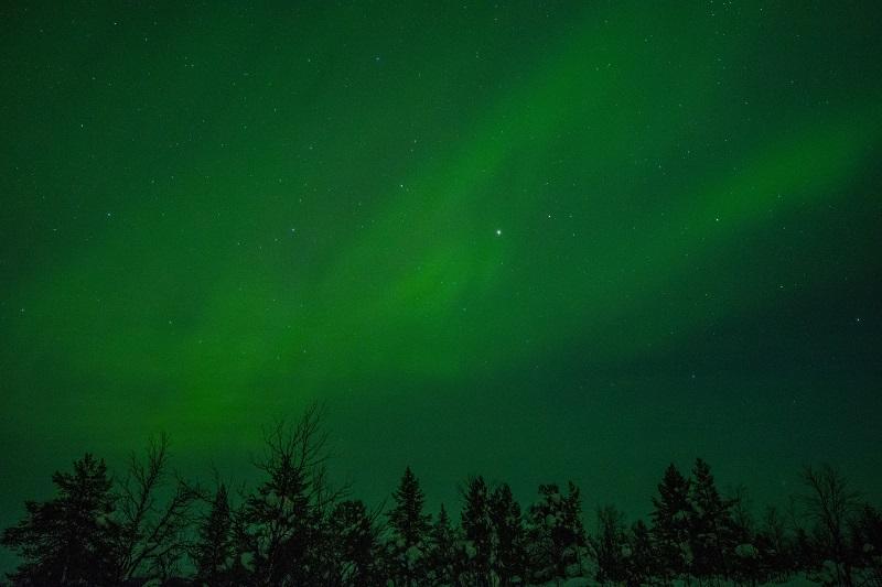 Noorderlicht in Zweeds Lapland 5