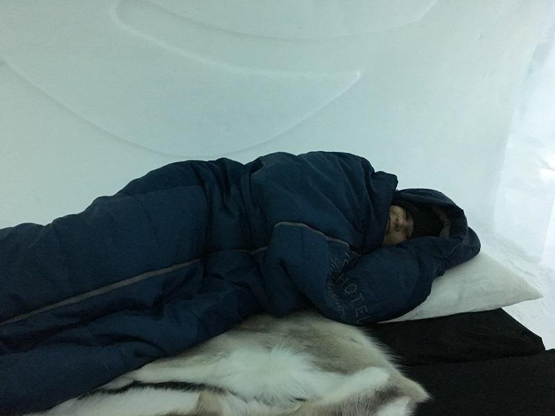 Slapen in het ICEHOTEL
