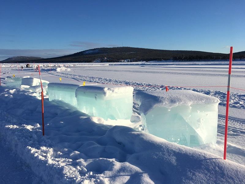 ijsblokken ICEHOTEL