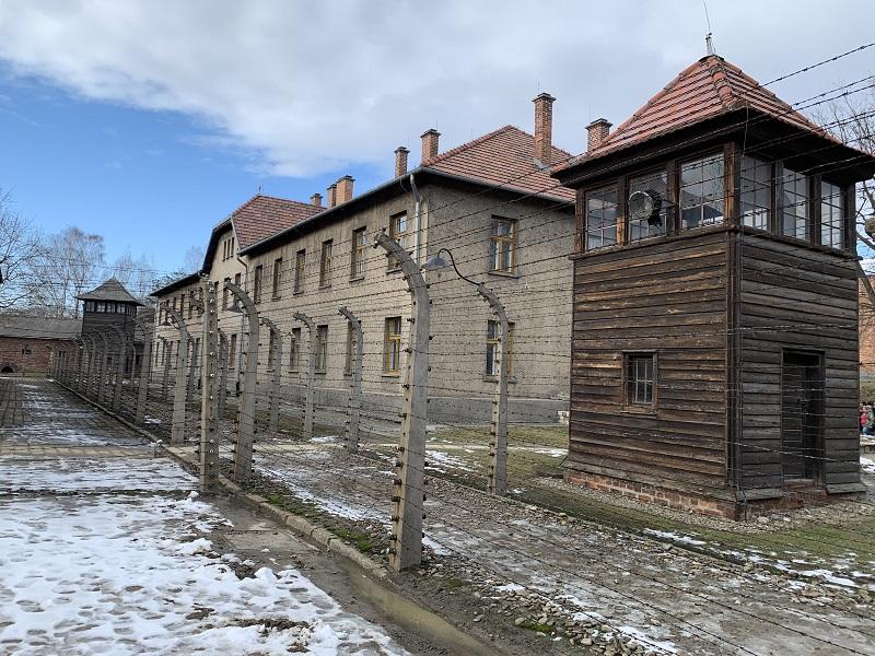 Auschwitz Birkenau fence